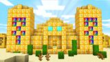 Minecraft UHC but the world is Lucky Block Temples..