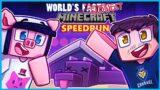 Minecraft but it's the slowest speedrun ever…