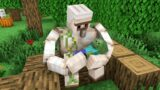 Monster School : Iron Golem and Baby Zombie – Sad Story – Minecraft Animation