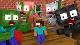Monster School : TINY BABY HEROBRINE CHALLENGE – Minecraft Animation