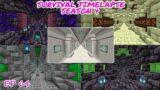 New Five Tunnels! | Minecraft Survival Timelapse Season 4 Episode 64