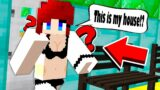 Noob Found Cute Girl In Lucky House In Minecraft (PE/MCPE/Xbox360/XboxOne/PS4/PS5)