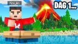 OVERLEVEN Op Een VERLATEN EILAND In Minecraft!