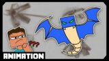 PHANTOMS ARE THE WORST | Minecraft animation