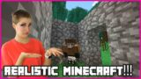 Playing Realistic Minecraft