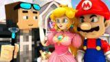 SUPER MARIO 64 VS MINECRAFT! (official) Mario Minecraft Animation Game Challenge