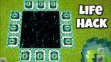 Tik Tok Minecraft Hacks that work in Minecraft 1.16 #shorts