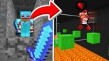 Trapping a Minecraft Player and FORCING him to PARKOUR