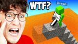 Trying Dream's GENIUS Minecraft Manhunt Hacks