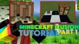 Tutorial Minecraft Ilusion Part 1 #Shorts #Short