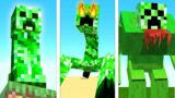 UPGRADING CREEPER Into A GOD In Minecraft … (Secret Powers!)