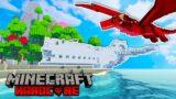 WE CRASHED on a HARDCORE SURVIVAL Minecraft Island…