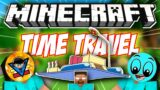 WE DID TIME TRAVEL IN MINECRAFT Ft. @AndreoBee [Herobrine Part 2]