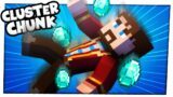 YOU LOST 4 DIAMOND BLOCKS?! | Minecraft Cluster Chunk REMATCH