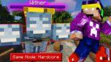Cat de PUTERNIC este WITHER-UL pe Minecraft HARDCORE?