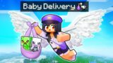 Delivering BABY MOBS To Families In Minecraft!