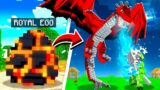 LIFE OF THE *RAREST* DRAGON IN MINECRAFT!