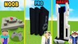 MINECRAFT – PLAYSTATION CHALLENGE | NOOB vs PRO vs HAKER | Vito vs Bella