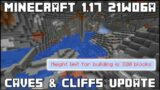 Minecraft 1.17 – Snapshot 21w06a – New Cave Generation & Increased World Height!