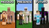 Minecraft: COMO VIAJAR PARA O PASSADO, PRESENTE E FUTURO NO MINECRAFT!