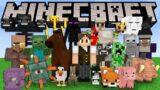 Minecraft: EU CONSIGO ME TRANSFORMAR EM TODOS OS 56 MOBS DO MINECRAFT!