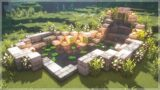 Minecraft: How to Build a Beautiful Fish Pond #Shorts