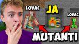 Minecraft Igrac VS 2 Lovca Mutanta IZAZOV *postali su cudovista*