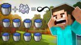 Minecraft Infinite Water Source By Bonemeal   #shorts #minecraft