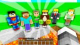 Minecraft Manhunt But IF I DIE, THE HUNTERS LOSE!!