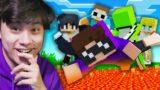 Minecraft Manhunt, But Its REVERSED!