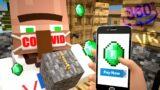 Minecraft Micro Village In Full Reality – 360 Minecraft Animation