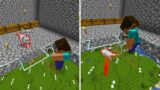 Most UNLUCKY And SAD Minecraft Moments Of ALL TIME #17