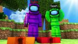 ONE IMPOSTER DOUBLE KILL?!   Minecraft Among Us Origins!