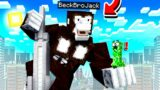 Playing as KING KONG in MINECRAFT!