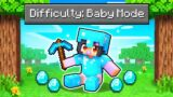 """We Played Minecraft In """"BABY MODE""""!"""