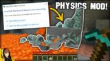 """""""Insane"""" Physics Mod = Breaking Minecraft!! [That's what we want…]"""