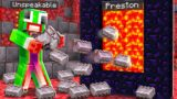 7 Ways to Steal Unspeakable's Netherite! – Minecraft