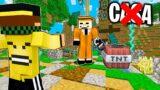 IL BIG LADRO VUOLE DISTRUGGERMI LA CASA nella BIG VANILLA – Minecraft ITA