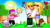 LANKYBOX Goes On A DATE In MINECRAFT?! *GIRLFRIEND PRANK ON ADAM!* (LankyBox Minecraft Movie)