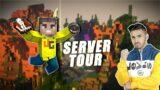 MINECRAFT SERVER TOUR & BED WARS   UJJWAL GAMER