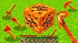 Minecraft BUT Lava Drops Tools…