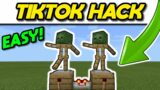 Minecraft Dancing Armour Stands Tutorial 1.16 #Shorts