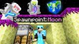 Minecraft Manhunt but we start on the MOON..