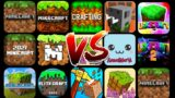 Minecraft PE VS All It's Copies (Android)