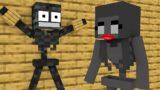 Monster School : WITHER SKELETON LOVE CURSE CHALLENGE – Minecraft Animation