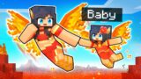 Playing As the Mother PHOENIX In Minecraft!