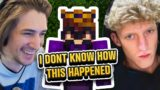 Speedrunning Minecraft, but with XQC and Tfue