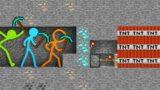 Stickman vs Minecraft Shorts Alan Becker Animation vs. Minecraft Shorts STICK FIGURE AVM Shorts 19