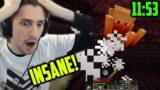 xQc Reacts to NEW Minecraft 1.16.1 Speedrun World Record (11:53)