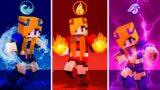 3 New Herobrine Sisters – Monster School Minecraft Animation